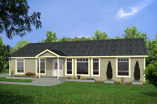 Highland 30co05602 brookswood homes for 30 x 30 modular home
