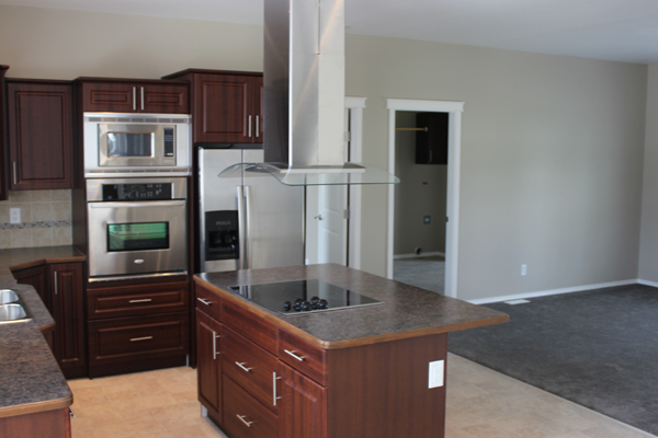 Big Kitchens with open floor plans are available